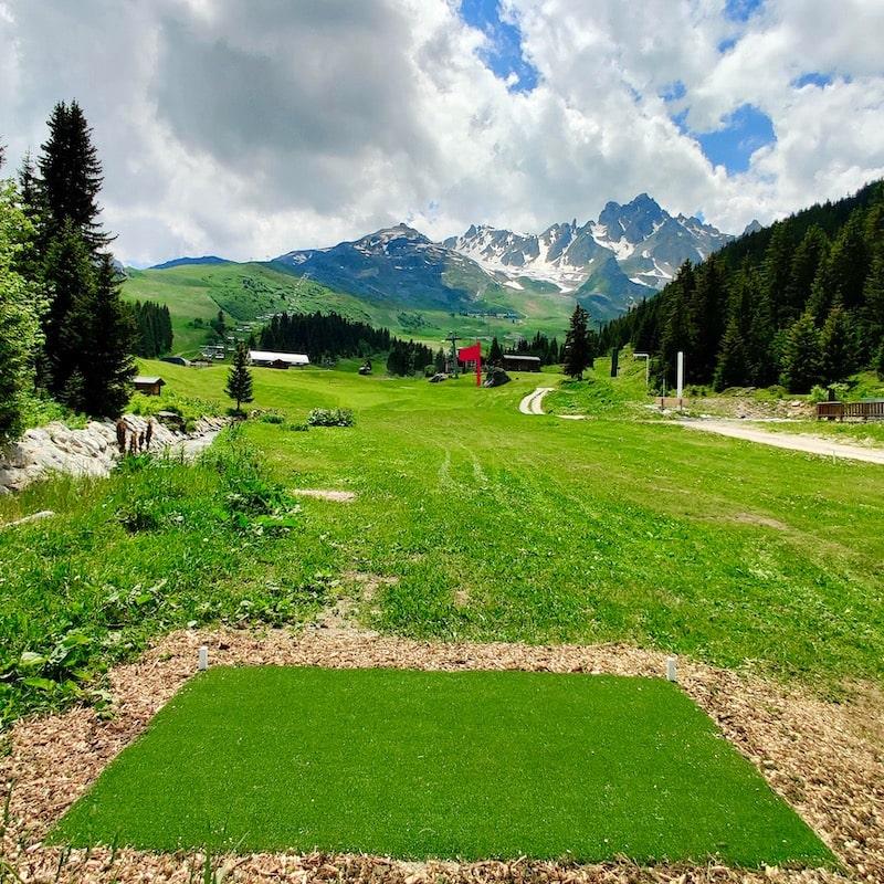 Golf Club de Courchevel | Départs noirs du trou 2