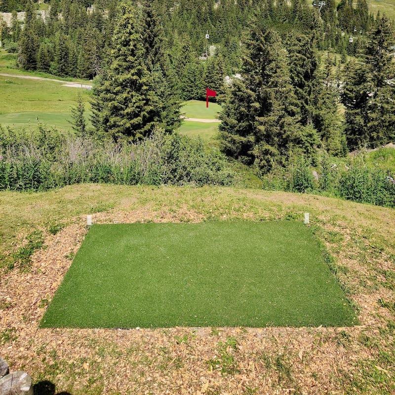 Golf Club de Courchevel | Départs noirs du trou 6