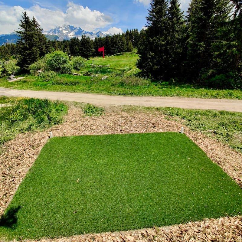 Golf Club de Courchevel | Départs noirs du trou 7