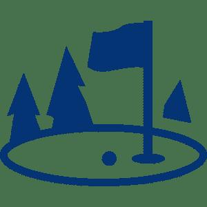 Golf Club de Courchevel | Logo parcours