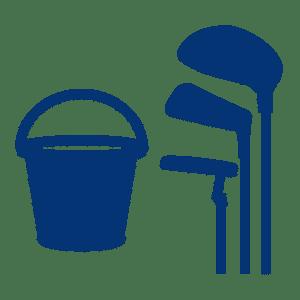 Golf Club de Courchevel | Logo centre d'entrainement