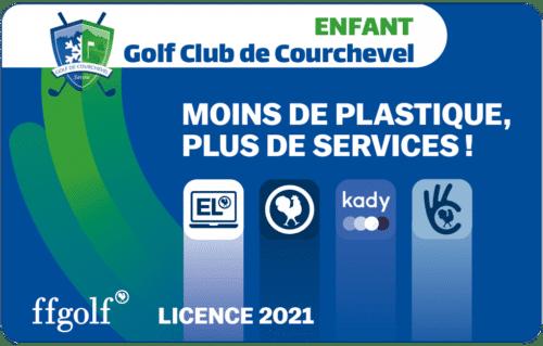 Golf Club de Courchevel | Licence FFG Enfant