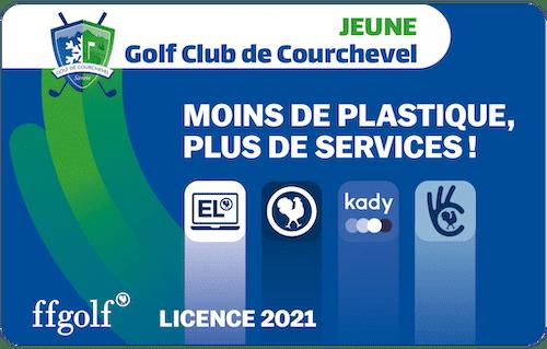 Golf Club de Courchevel | Licence FFG Jeune