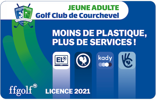 Golf Club de Courchevel | Licence FFG Jeune Adulte