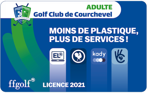 Golf Club de Courchevel | Licence FFG Adulte