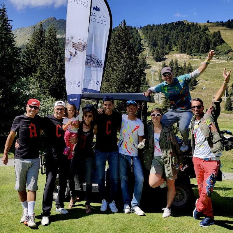 Golf Club de Courchevel | Ambiance décontracté lors de la Tandem Cup 2020e