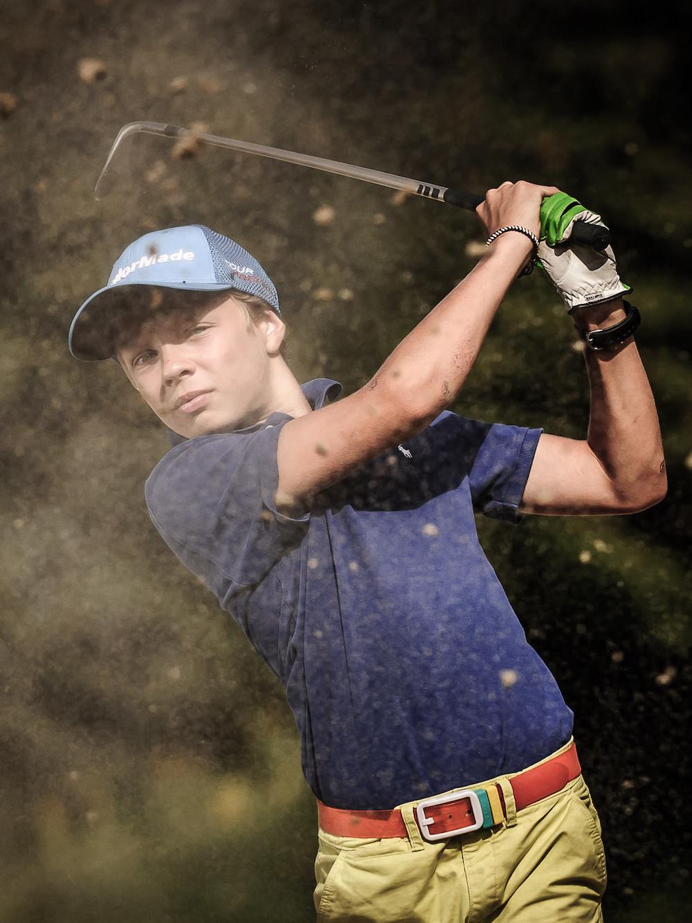 Golf Club de Courchevel | Entrainement dans la zone des bunkers