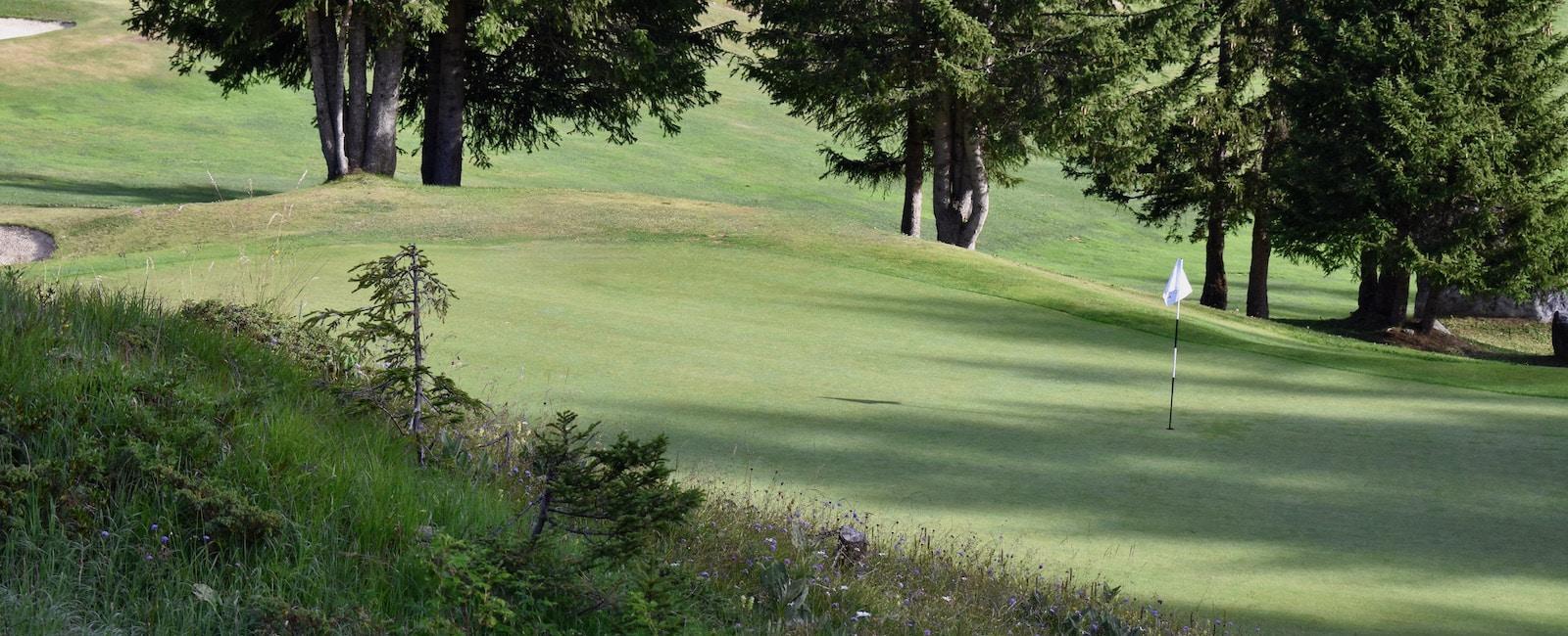Golf Club de Courchevel | Trou 7 le Juge
