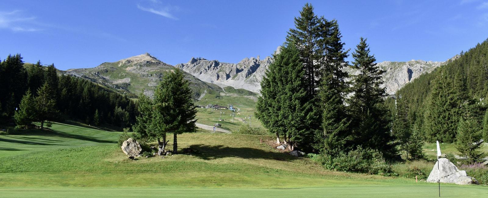 Golf Club de Courchevel | Green du 8