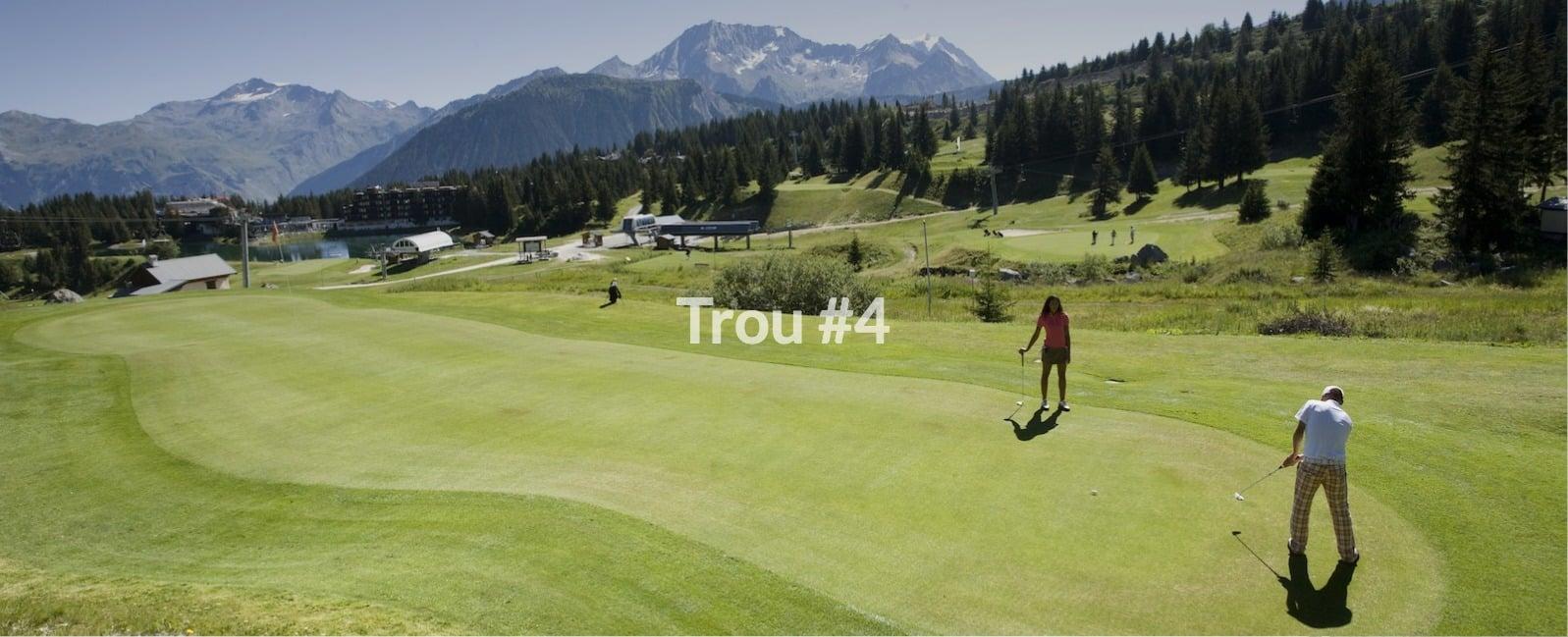 Golf Club de Courchevel | Trou 4