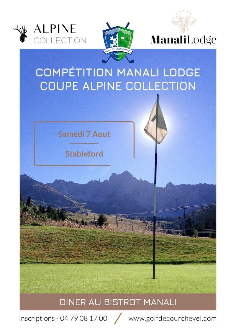 Golf Club de Courchevel | Compétition Manali Lodge - Coupe Alpine Collection - Samedi 7 Aout 2021