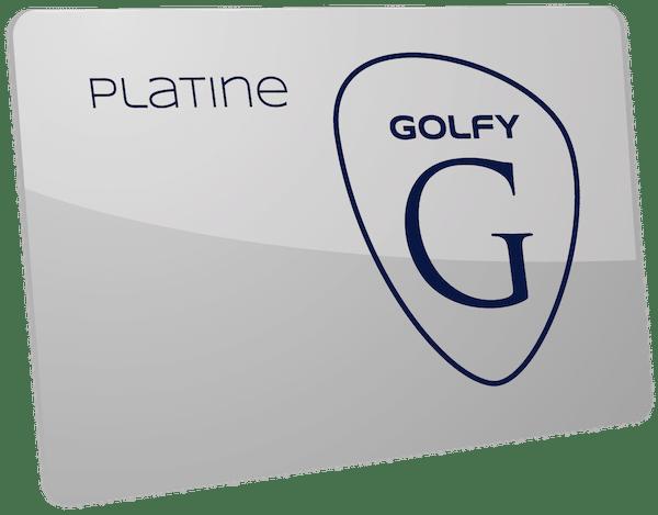Golf Club de Courchevel | Carte Golfy Platine en vente sur le site