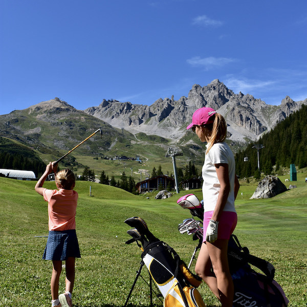 Golf Club de Courchevel   Golf en famille