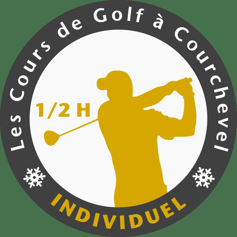 Golf Club de Courchevel | Logo cours individuel demi-heure