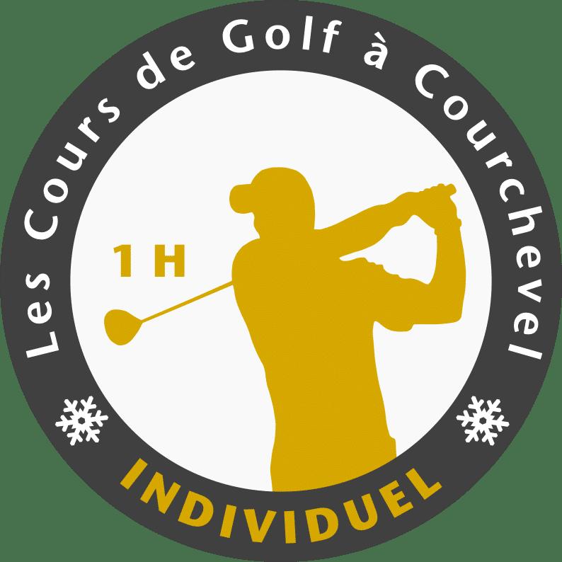 Golf Club de Courchevel | Logo cours individuel heure