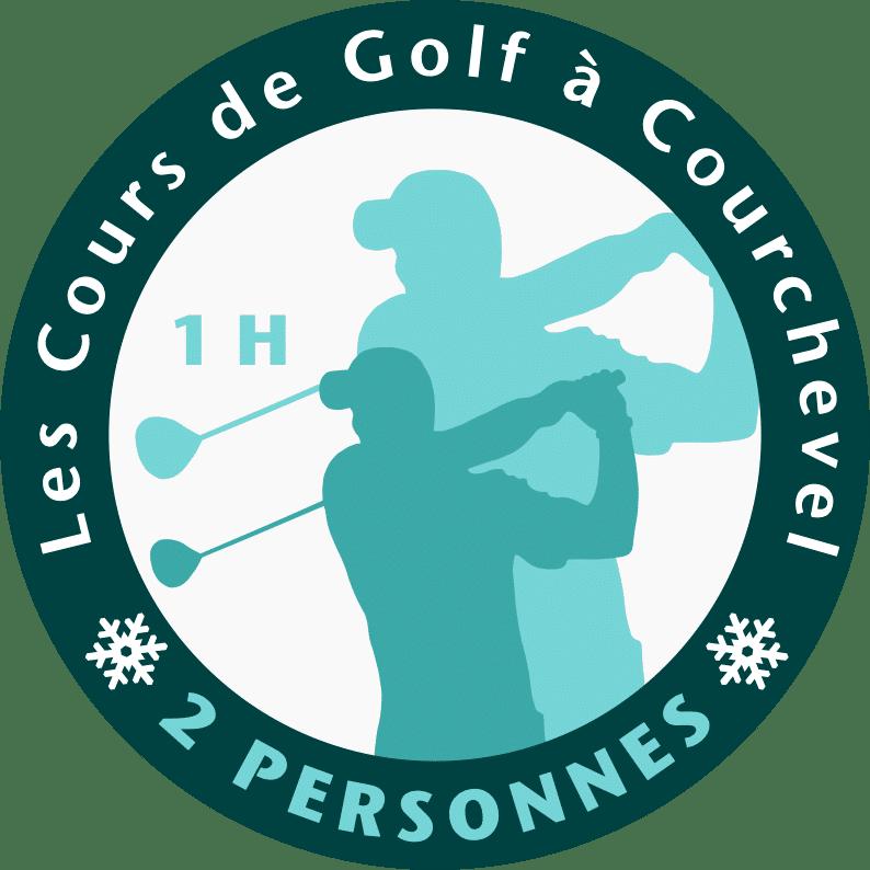 Golf Club de Courchevel | Logo cours 2 personnes 1 heure