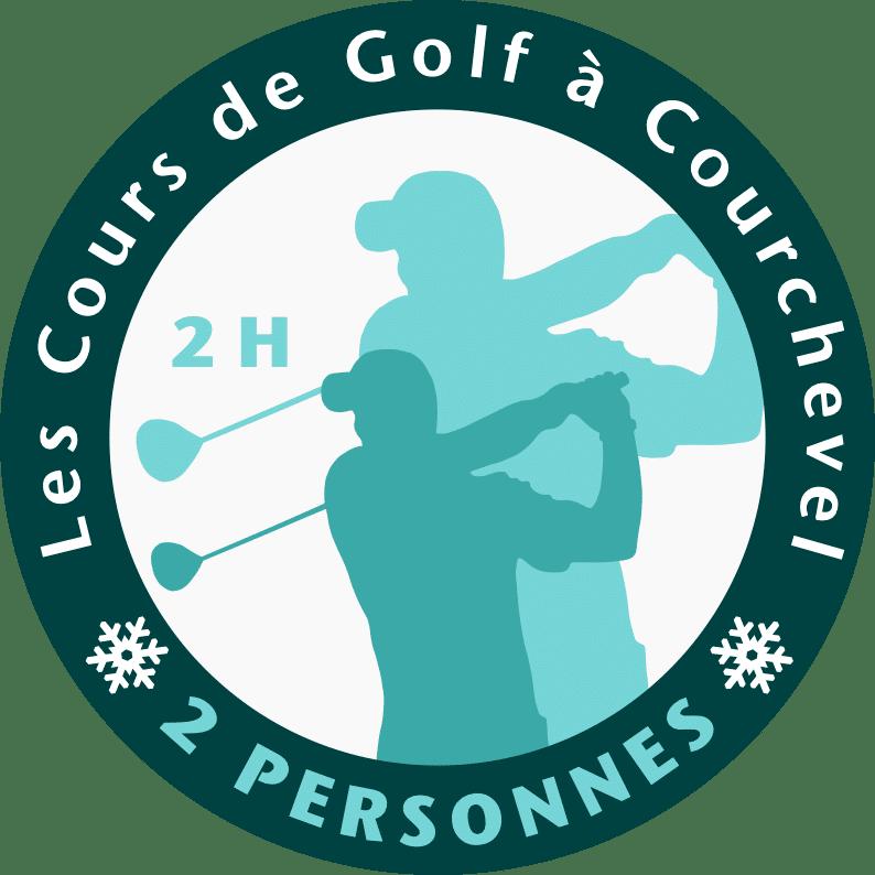 Golf Club de Courchevel | Logo cours 2 personnes 2 heures