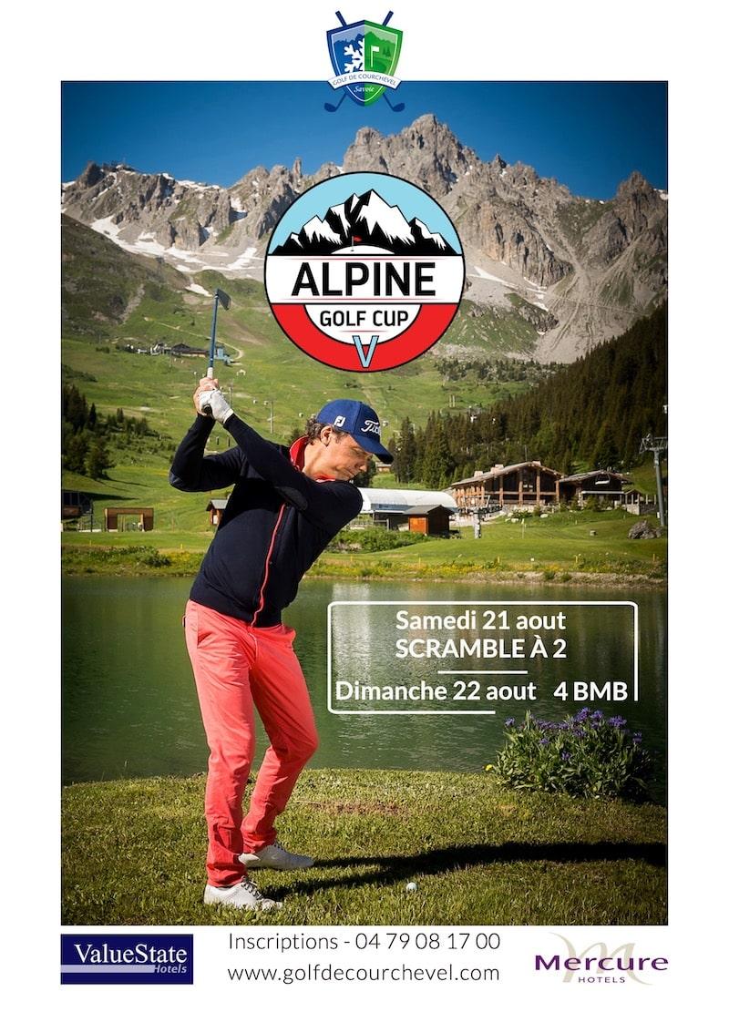 Golf Club de Courchevel | Alpin Golf Cup les 21 et 22 aout 2021- Par équipe de 2