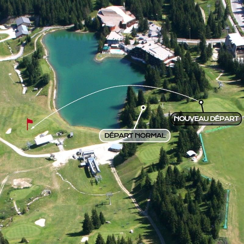 Golf Club de Courchevel | Nouveau départ du 1