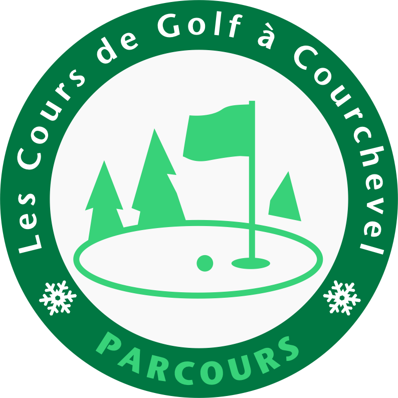 Golf Club de Courchevel | Logo parcours accompagne