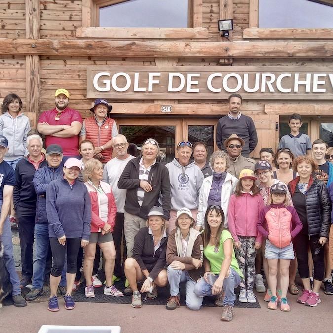 Golf Club de Courchevel   Ambiance lors des compétitions