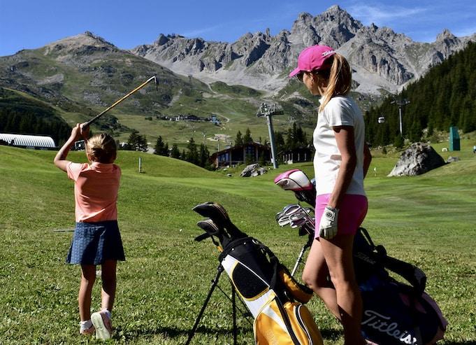 Golf Club de Courchevel | Les enfants à l'honneur