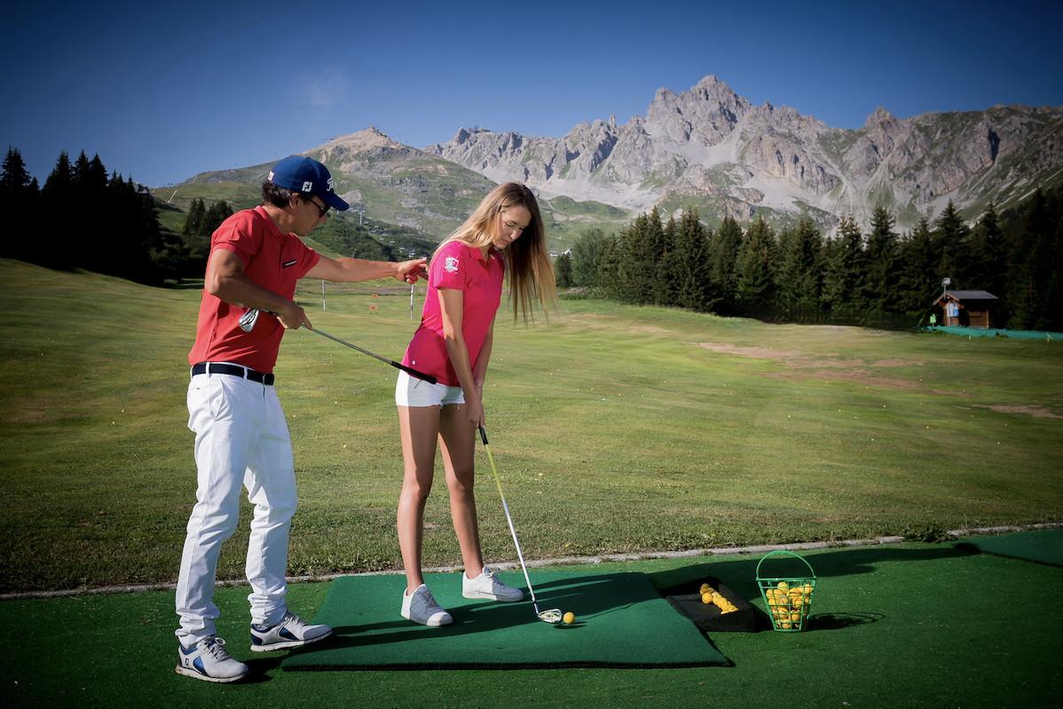 Golf Club de Courchevel | Stage pour découvrir le golf
