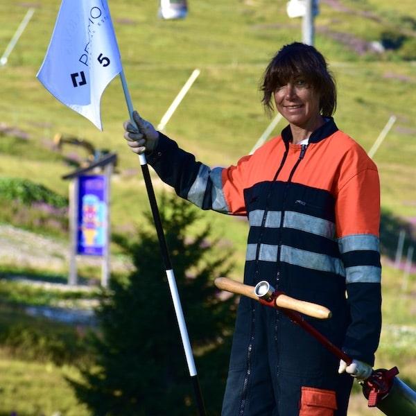 Golf Club de Courchevel   Véronique Lathuraz - Intendante de Parcours