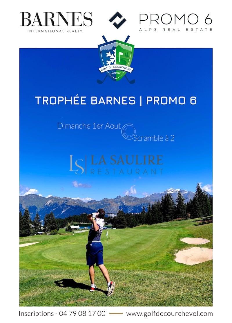 Golf Club de Courchevel | Trophée Barnes - Promo 6 - La Saulire - Dimanche 1er Aout 2021