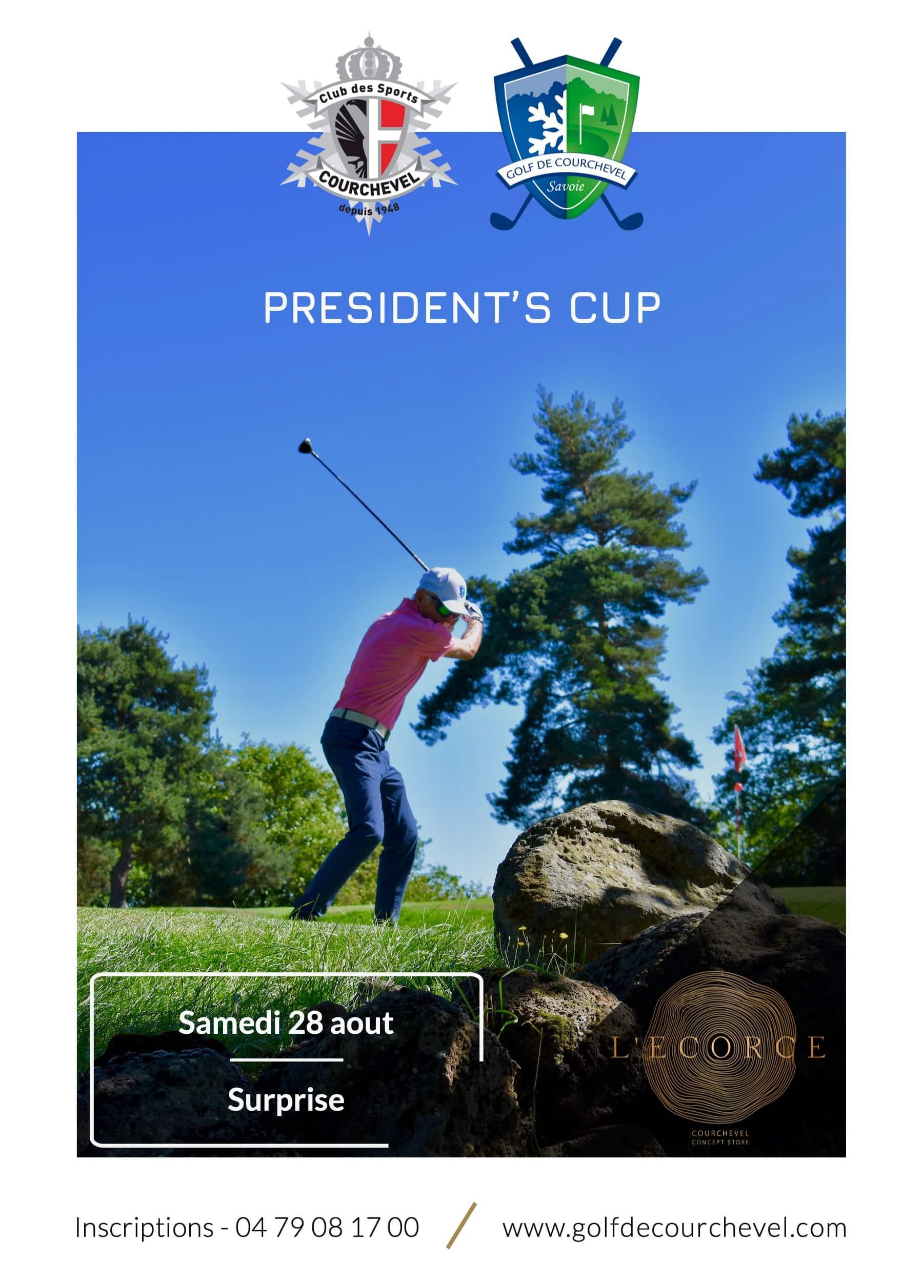 Golf Club de Courchevel | President's Cup le 28 aout 2021 - Surprise