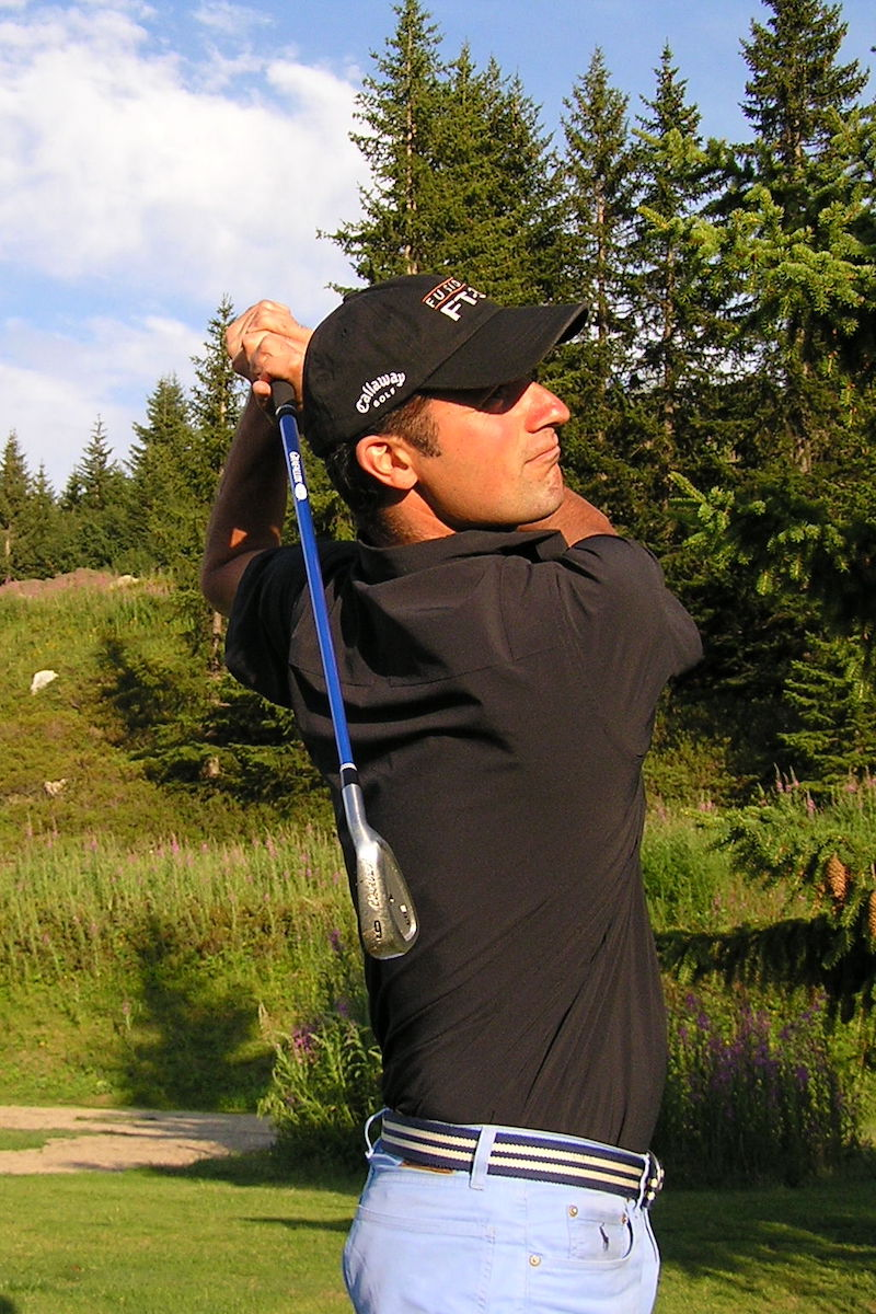 Golf Club de Courchevel | Simon, pro à votre écoute