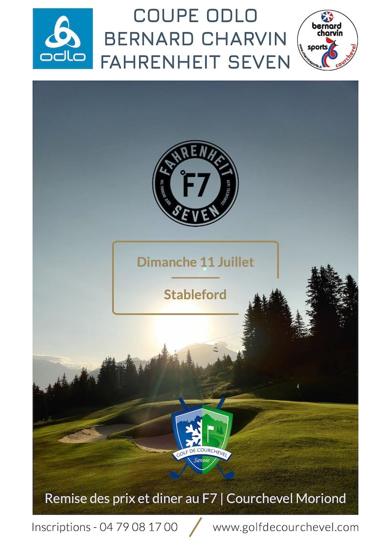 Golf Club de Courchevel   Coupe Odlo Bernard Charvin Sports - Dimanche 11 Juillet 2021