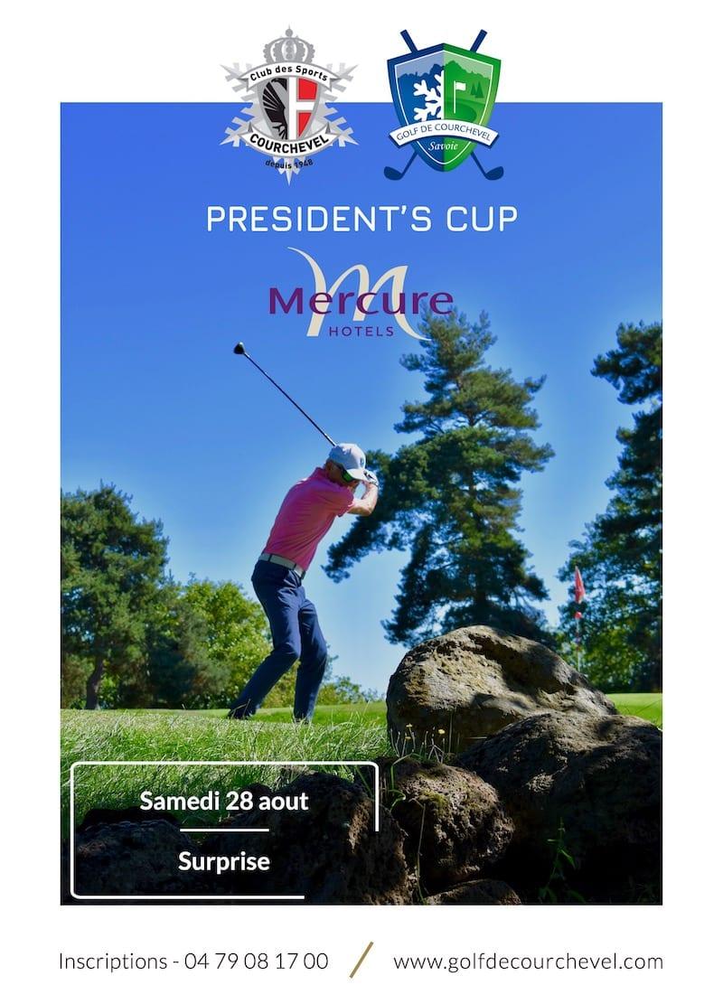 Golf Club de Courchevel   President's Cup le 28 aout 2021 - Surprise