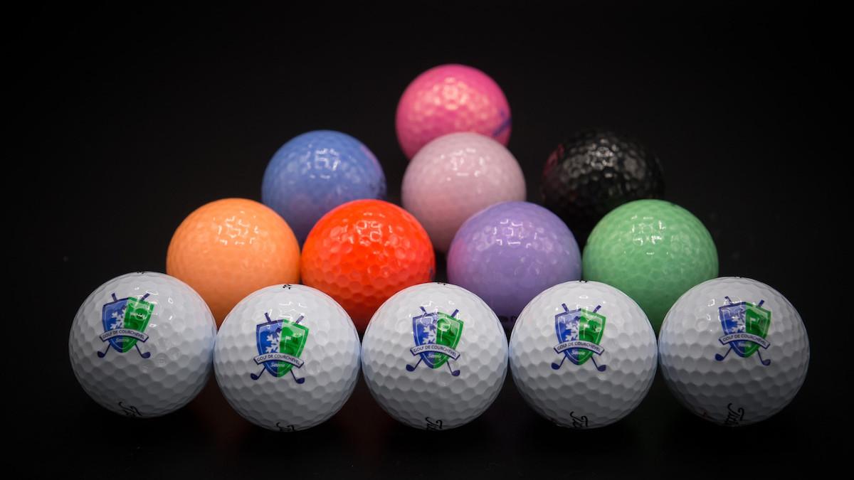 Golf Club de Courchevel   Balles de couleurs